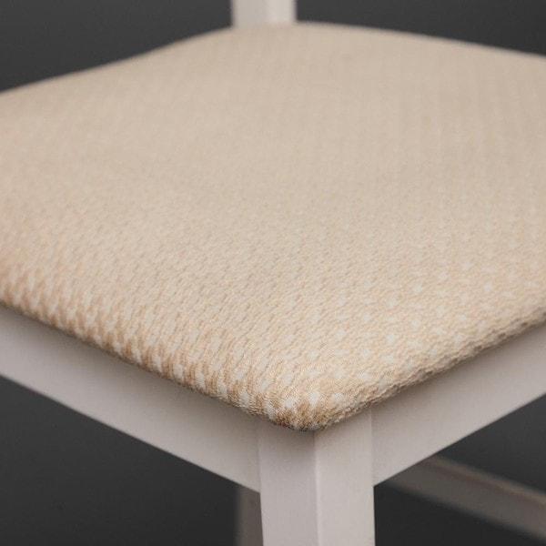 Обеденная группа Хадсон (стол + 4 стула)/ Hudson Dining Set (слоновая кость) (фото, вид 3)