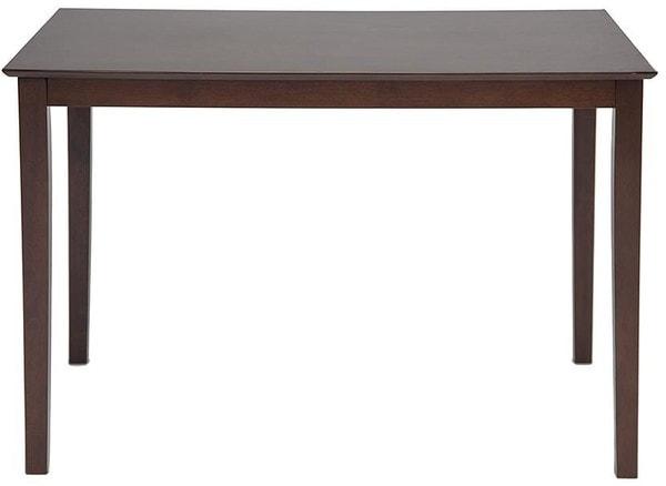 Обеденная группа Хадсон (стол + 4 стула)/ Hudson Dining Set (темный орех) (фото, вид 1)