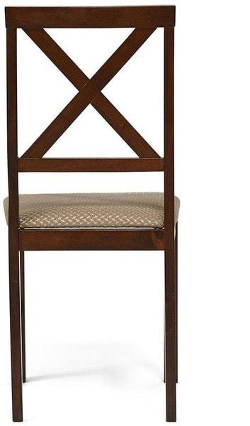 Обеденная группа Хадсон (стол + 4 стула)/ Hudson Dining Set (темный орех) (фото, вид 4)