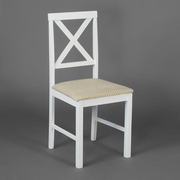 Обеденная группа Хадсон (стол + 4 стула)/ Hudson Dining Set (белый) (фото, вид 4)
