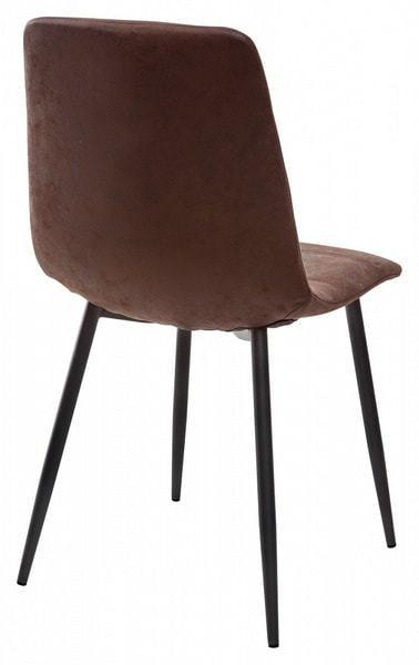 Стул COACH-L GW-12 коричневый винтажный, ткань (фото, вид 1)