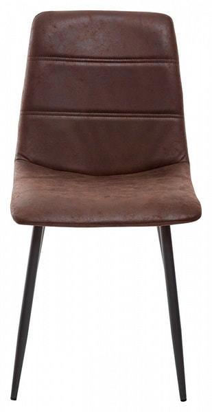Стул COACH-L GW-12 коричневый винтажный, ткань (фото, вид 2)