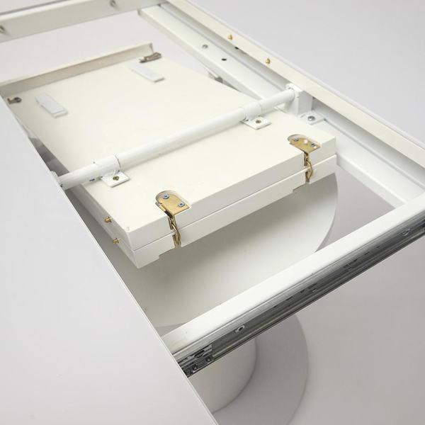 Стол Solara (mod. 01) Белый (фото, вид 2)