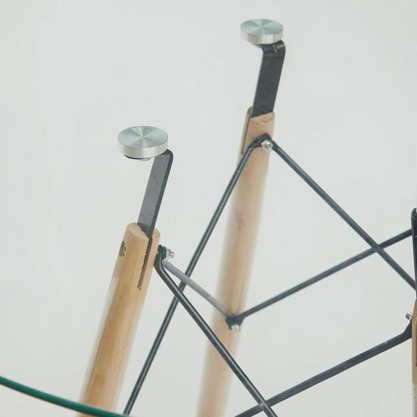 Стол Cindy Glass (mod.90GLASS) Прозрачный (фото, вид 2)
