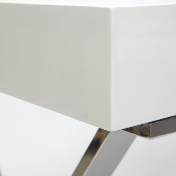 Стол письменный Lazetti (mod. EWD-HS01) Белый (фото, вид 1)