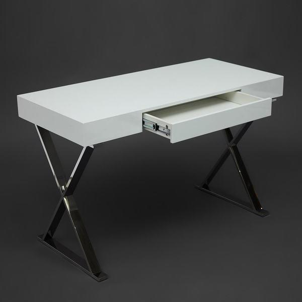 Стол письменный Lazetti (mod. EWD-HS01) Белый (фото, вид 5)