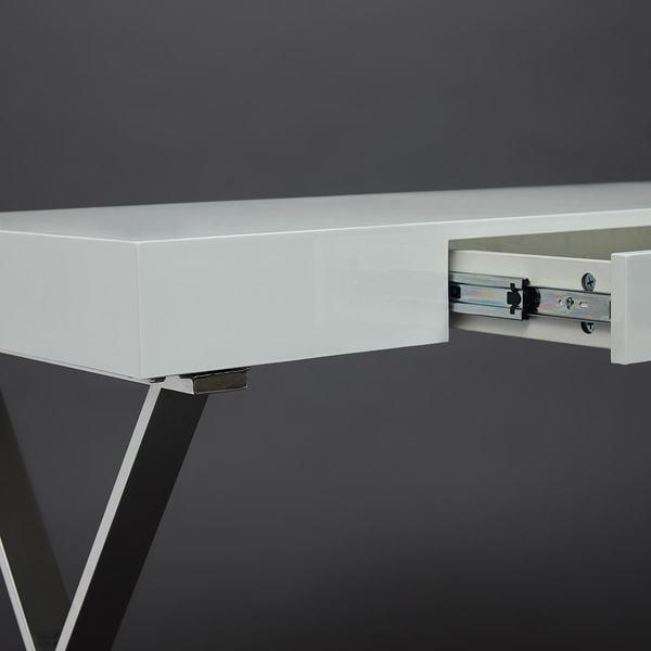 Стол письменный Lazetti (mod. EWD-HS01) Белый (фото, вид 6)
