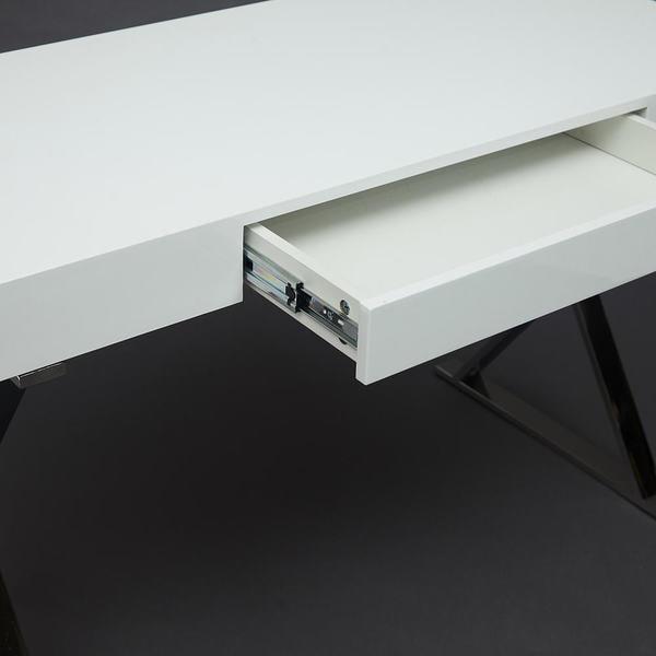 Стол письменный Lazetti (mod. EWD-HS01) Белый (фото, вид 7)