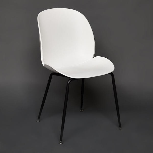 Стул Secret De Maison Beetle Chair (mod. 70) Белый (фото, вид 1)