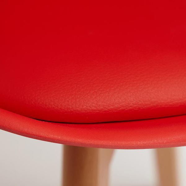Стул Secret De Maison Tulip (mod. 73) Красный (фото, вид 3)