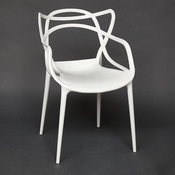 Стул Secret De Maison Cat Chair (mod. 028) Белый (фото, вид 1)