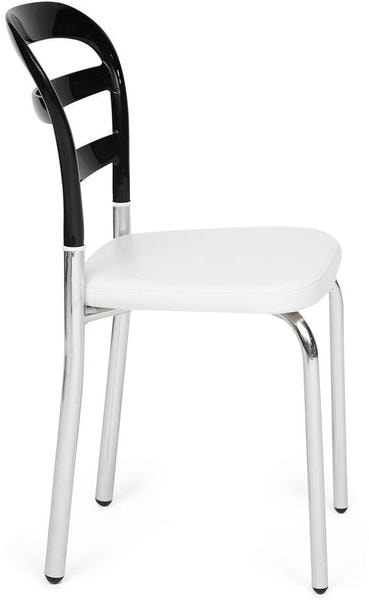 Стул Izmir (mod. 10) Черно-белый (фото, вид 1)