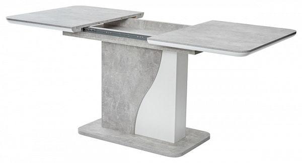Стол SIRIUS Бетон/ Белый 120 (фото, вид 3)