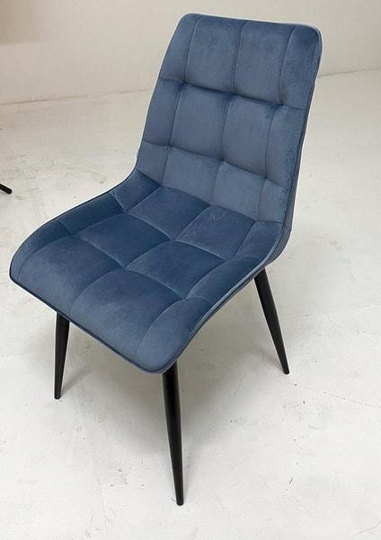 Стул CHIC G108-56 пудровый синий, велюр (фото, вид 3)