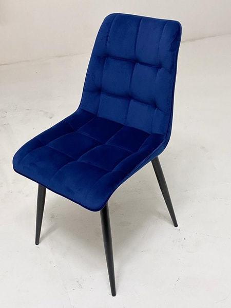 Стул CHIC G108-67 глубокий синий, велюр (фото, вид 3)