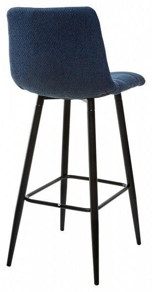 Стул барный SPICE TRF-06 полночный синий, ткань (фото, вид 1)