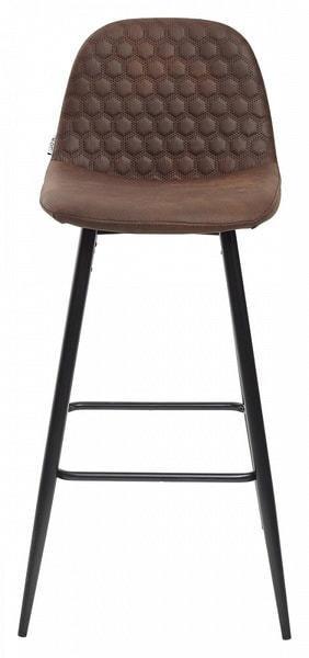Стул барный LION BAR PK-03 коричневый, ткань микрофибра (фото, вид 2)