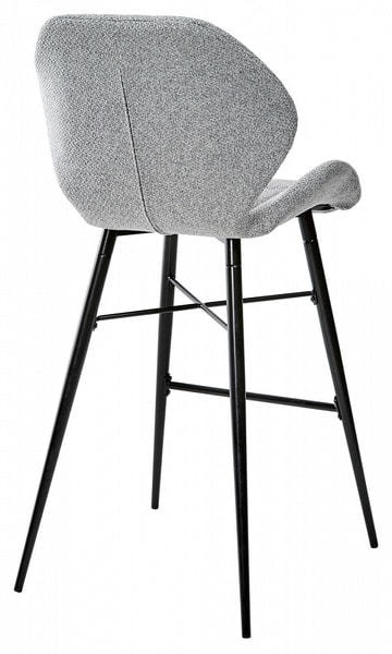 Стул барный MARCEL TRF-08 теплый серый, ткань (фото, вид 1)