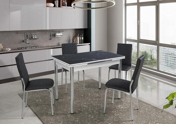 Стол 4001 BLACK MARBLE (фото, вид 7)