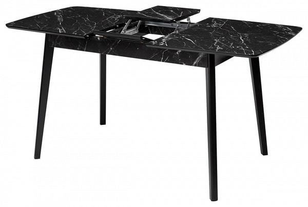 Стол 29 BLACK MARBLE черный мрамор (фото, вид 1)