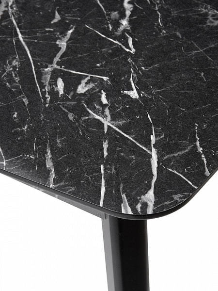 Стол 29 BLACK MARBLE черный мрамор (фото, вид 5)