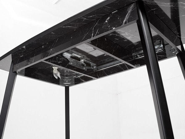 Стол 29 BLACK MARBLE черный мрамор (фото, вид 6)