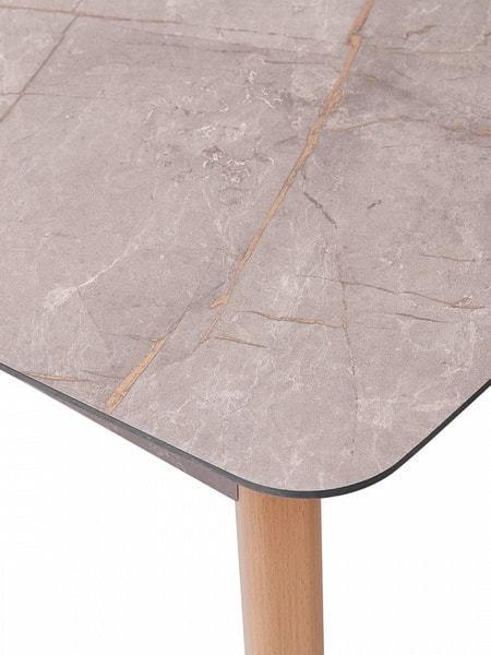 Стол 29 GRAY MARBLE серый мрамор (фото, вид 5)