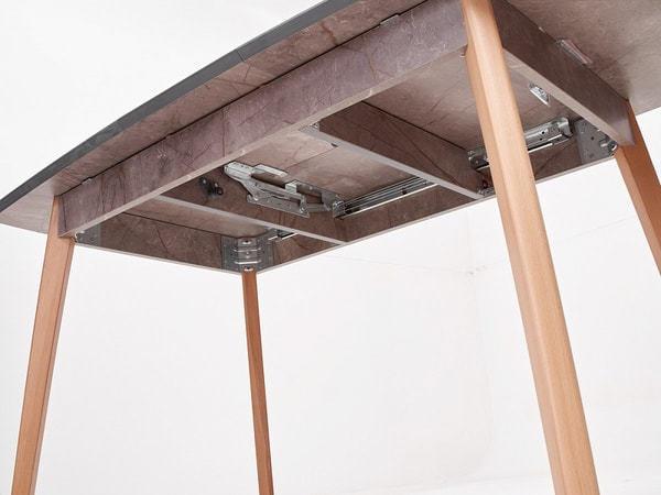 Стол 29 GRAY MARBLE серый мрамор (фото, вид 6)