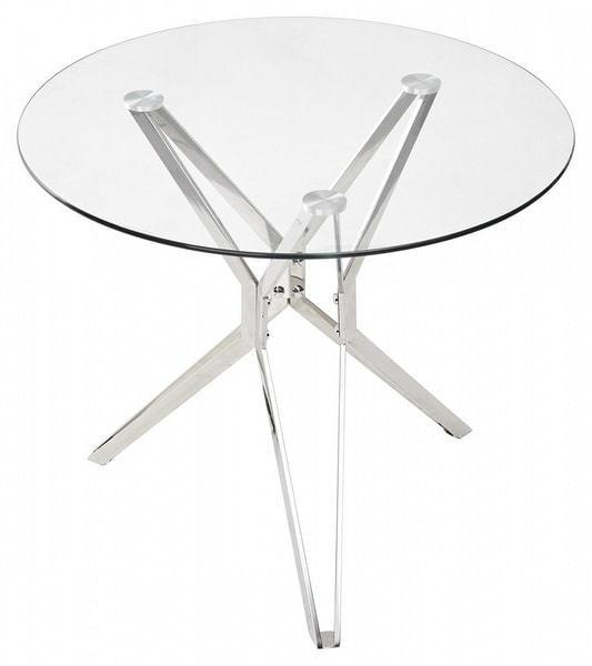 Стол RIGA прозрачный (фото, вид 1)
