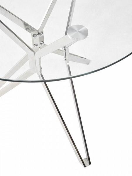 Стол RIGA прозрачный (фото, вид 4)
