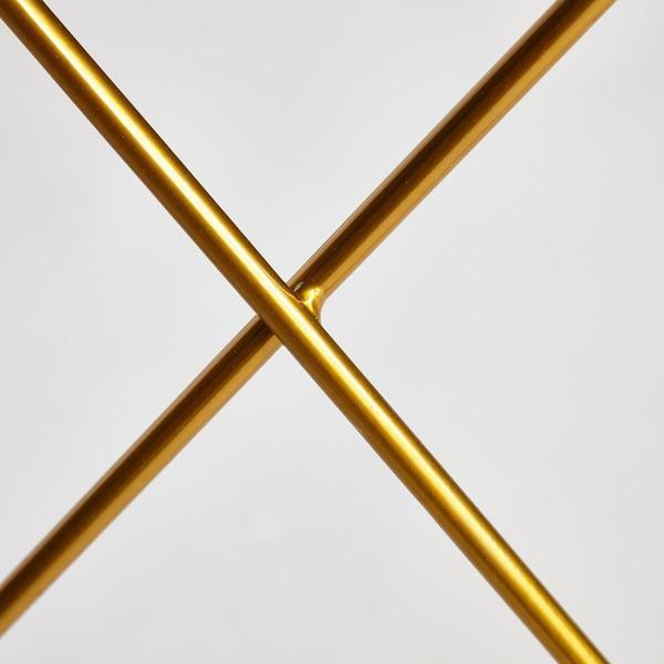 Стол Vulcano (mod. DT1423) черный/золотой (фото, вид 3)