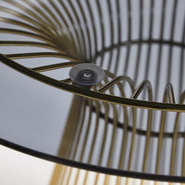 Стол Argo (mod. DT1471) черный/золотой (фото, вид 2)