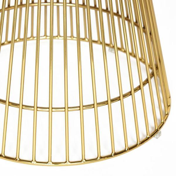 Стол Argo (mod. DT1471) черный/золотой (фото, вид 3)