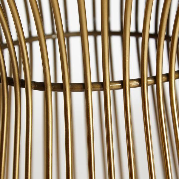 Стол Argo (mod. DT1471) черный/золотой (фото, вид 5)