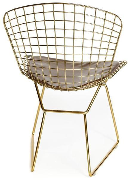 Стул Bazalt с подушкой (mod. DC5079) Золото (фото, вид 1)