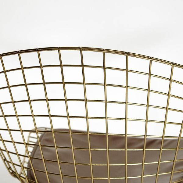 Стул Bazalt с подушкой (mod. DC5079) Золото (фото, вид 4)