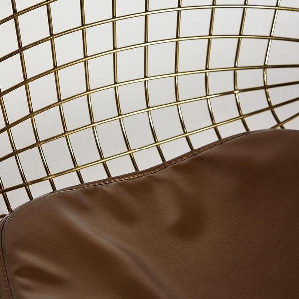Стул Bazalt с подушкой (mod. DC5079) Золото (фото, вид 5)