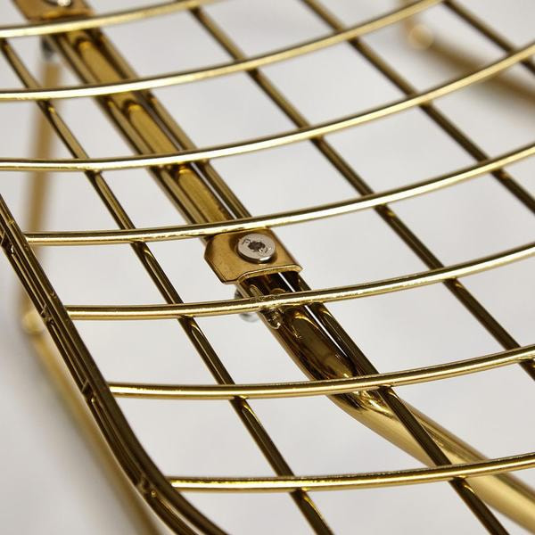 Стул Bazalt с подушкой (mod. DC5079) Золото (фото, вид 8)