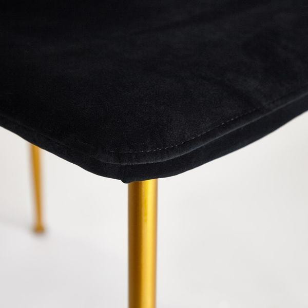 Стул Rex (mod. DC5037) черный/золотой (фото, вид 5)
