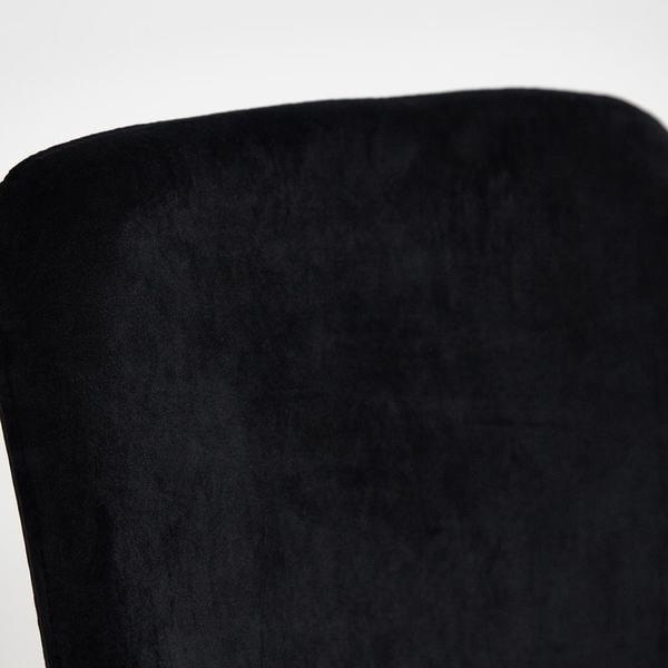 Стул Rex (mod. DC5037) черный/золотой (фото, вид 6)