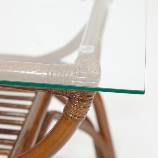 Столик кофейный Venice (coco brown (коричневый кокос)) (фото, вид 3)