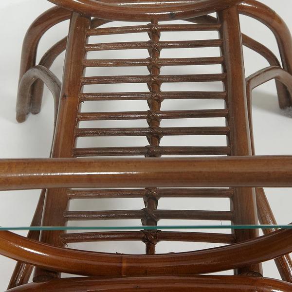 Столик кофейный Venice (coco brown (коричневый кокос)) (фото, вид 5)