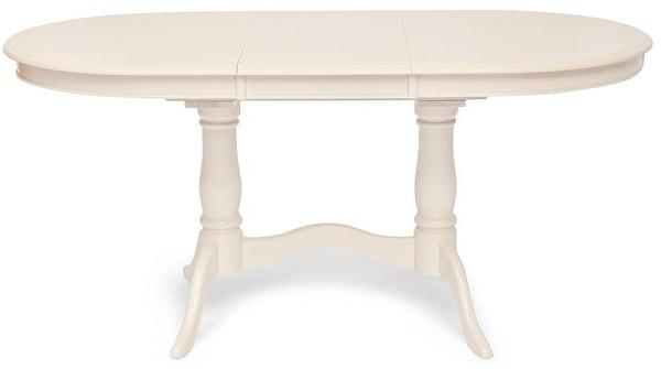 Стол Eva (EV-T4EX) Ivory White (фото, вид 1)