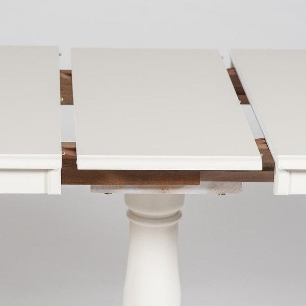 Стол Solerno (ME-T4EX) Ivory white (фото, вид 2)