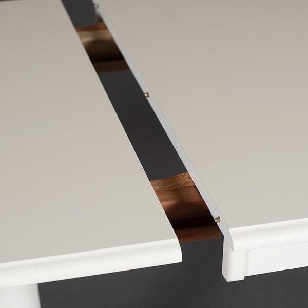 Стол Solerno (ME-T4EX) Ivory white (фото, вид 4)