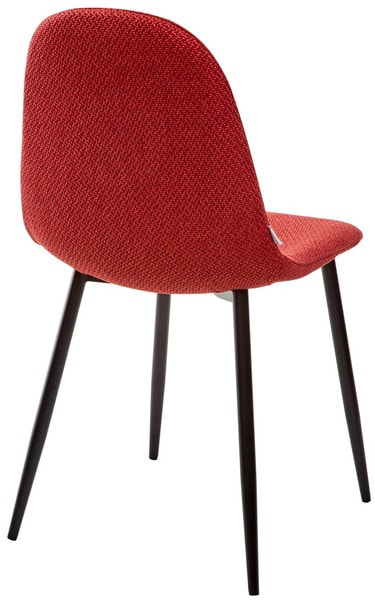 Стул MOLLY TRF-04 красный, ткань (фото, вид 1)