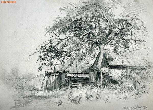 Стол обеденный с плиткой CT 3045P Античный белый/Тёмный Дуб (Дерево) (фото, вид 2)