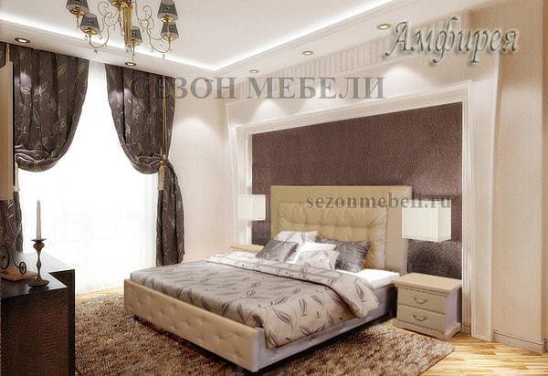 Кровать Амфирея (фото, вид 1)