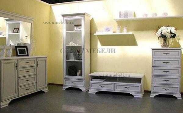 Модульная система Мебель Кентаки (Kentaki) белый (фото, вид 4)