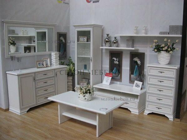 Модульная система Мебель Кентаки (Kentaki) белый (фото, вид 3)
